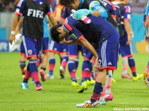 ブラジルワールドカップ日本敗退
