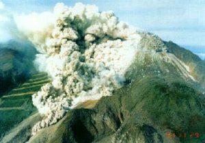 普賢岳の火砕流