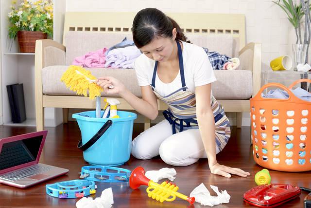 主婦業の忙しさが中年太りの原因となる