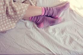 寝る時に履く靴下