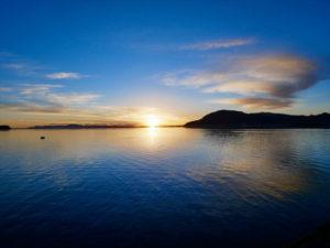 世界で最も早く朝を迎える国