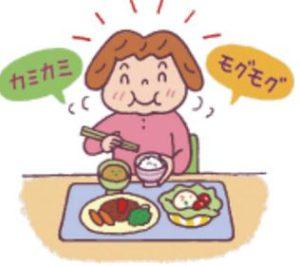 食事をゆっくり噛む習慣