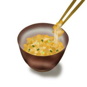 善玉菌を増やす食べ物納豆