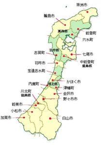石川県地図