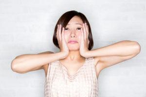 顔汗と更年期の関係