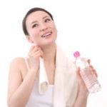 顔汗の正しい拭き方