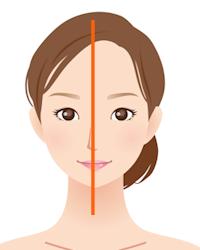 顔のゆがみと骨盤のゆがみの関係