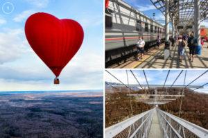 モスクワ北部で気球