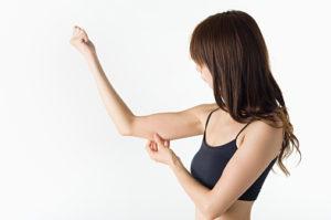筋肉量の少ない女性